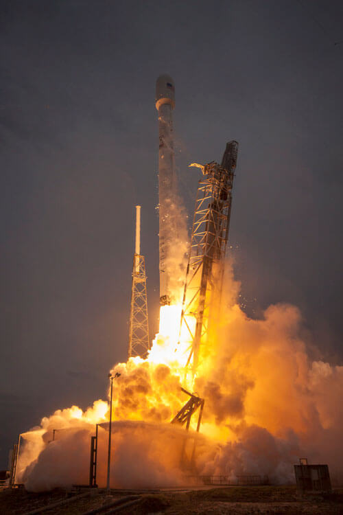 Image of the SpaceX-9