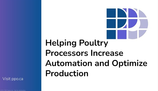 Webinar – Helping Poultry Processors Increase Automation and Optimize Production