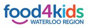 Food for Kids Waterloo Region logo