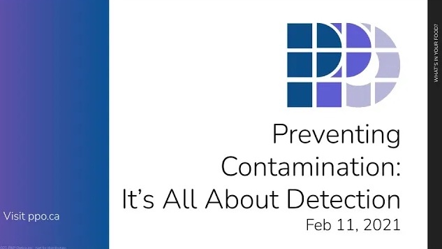 Webinar – Preventing Contamination: It's All About Detection