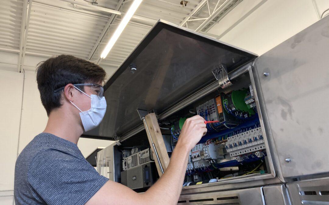 People at PPO: Fraser Robinson, Hardware Intern